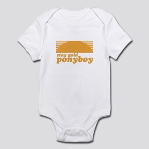 """Stay Gold Ponyboy"" [The Outs Infant Bodysuit"